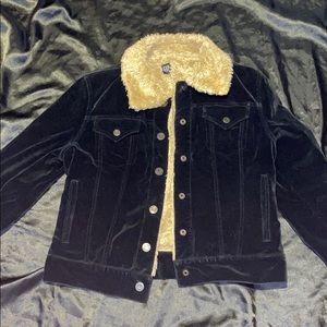Gap Borg Collar Jacket